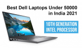 Best Dell Laptops Under 50000 in India – 10th & 11th Generation Intel Processor