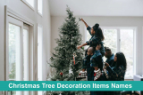 List of 25 Christmas Tree Decoration Items Names And Images