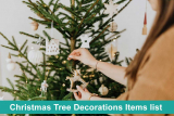 35+ Christmas Tree Decorations Items list for this Season Online Shopping